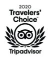 Tripadvisor Travelllers' choice 2020