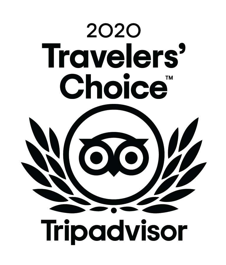 Tripadvisor Travelllers' choice 2020