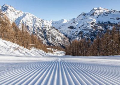 Ski pelvoux piste damee