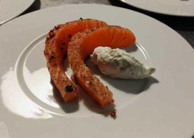 Table Saumon Gravlax