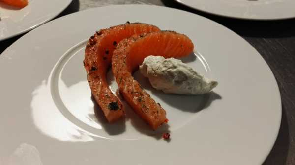 Table Saumon Gravlax
