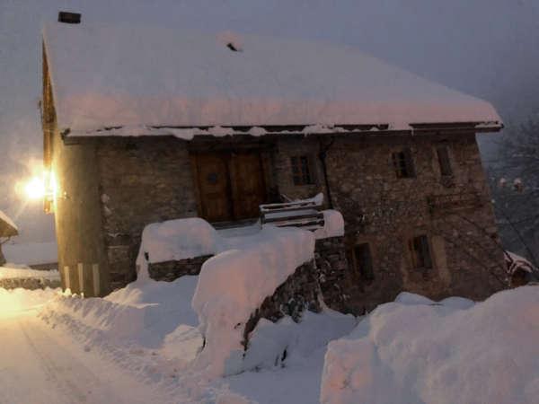 Clot Saint Joseph Nord nuit de neige