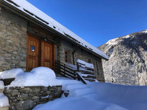 Clot Saint Joseph entrée Nord neige soleil