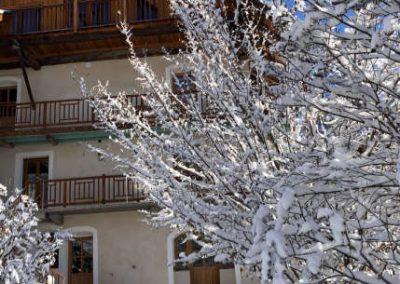 Clot Saint Joseph Ouest neige soleil