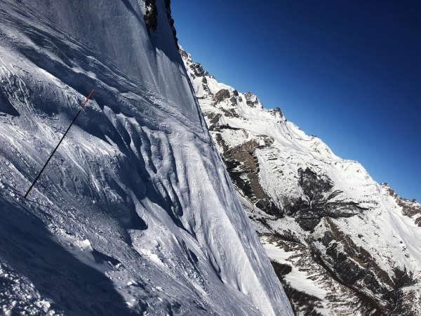 Ski Serre-Chevalier pente cibouit