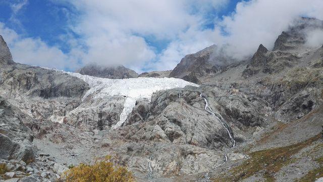 Glacier blanc aval