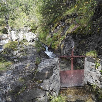 Parc National des Ecrins captage Béal
