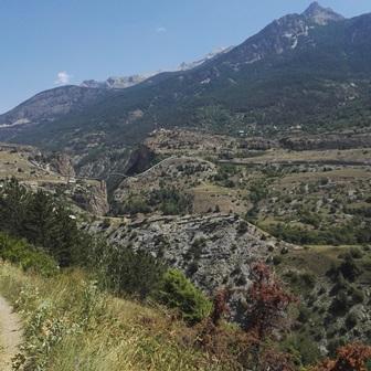 Parc National des Ecrins conduite eau L Argentière